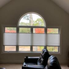 Honeycomb shades white bluff road 004