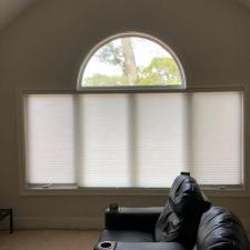 Honeycomb shades white bluff road 005