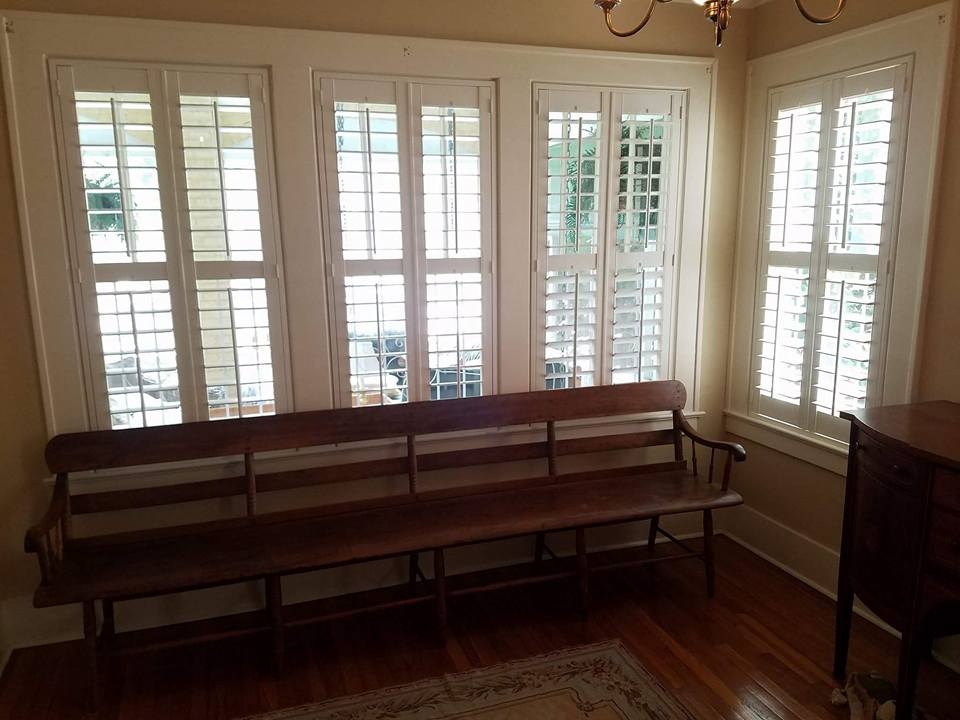 Savannah Plantation Shutters Installation